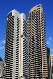 De tweelingwolkenkrabbers van Sydney Stock Fotografie