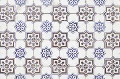 De typische oude tegels van Lissabon Royalty-vrije Stock Foto