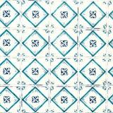 De typische Portugese achtergrond van de tilesAbstract kleurrijke muur - Lisb Stock Fotografie
