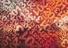 de typografische textuur van 2013 Royalty-vrije Stock Afbeeldingen