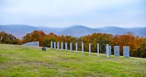 De tyska militära gravarna Arkivfoton