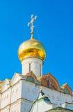 De uikoepel van de Kapel van Nikon ` s in St Sergius Lavra royalty-vrije stock foto's