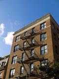 De uit het stadscentrum bouw van New York Stock Afbeeldingen