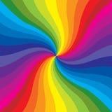 De Uitbarsting van de regenboog Stock Afbeeldingen
