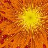 De Uitbarsting van de zon Royalty-vrije Illustratie