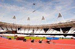 De Uitdaging van de Atletiek van de Onbekwaamheid van Londen van het visum Stock Afbeelding