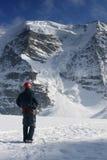 De uitdaging van de berg Royalty-vrije Stock Fotografie