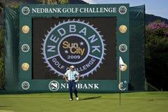 De Uitdaging van het Golf Robert Allenby - Nedbank Royalty-vrije Stock Foto