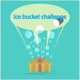 De Uitdagingsconcept van de ijsemmer Royalty-vrije Stock Foto's