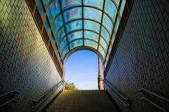 De Uitgang van de metro Stock Afbeelding