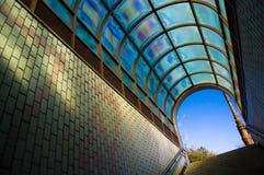 De Uitgang van de metro Royalty-vrije Stock Afbeeldingen