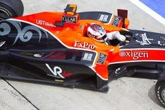 De uitgangenkuil van Glock bij Maleise F1 Stock Afbeeldingen