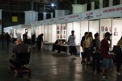 17de uitgave van de Tatoegering Expo van Barcelona in Fira DE Barcelona Stock Fotografie