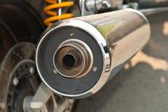De Uitlaat van de motorfiets Royalty-vrije Stock Fotografie