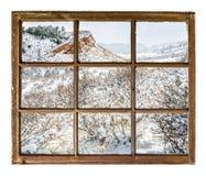De uitlopers abstract landschap van Colorado Royalty-vrije Stock Afbeelding