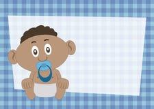 De Uitnodiging van de babydouche Stock Foto