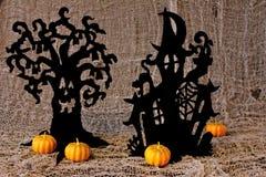 De uitnodiging van Halloween. Stock Afbeeldingen