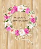 De uitnodiging van het huwelijk Stock Foto