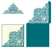 De uitnodiging van het lay-outhuwelijk royalty-vrije illustratie