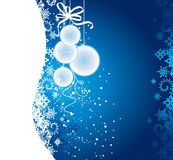 De uitnodiging van Kerstmis royalty-vrije illustratie