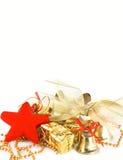 De uitnodiging van Kerstmis Royalty-vrije Stock Foto