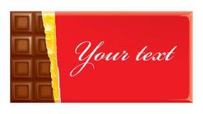 De uitnodigingen van Choco Royalty-vrije Stock Foto's