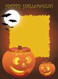 De Uitnodigingen van de Partij van Halloween stock illustratie