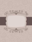 De uitnodigingsachtergrond van het huwelijk Stock Foto's
