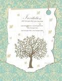 De Uitnodigingskaart van de familiebijeenkomst Royalty-vrije Stock Foto's