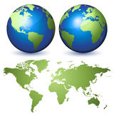 De uitrusting van de aarde stock illustratie
