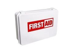 De Uitrusting van de eerste hulp Stock Fotografie