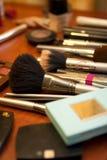 De uitrusting van de make-up Stock Afbeeldingen