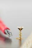 De Uitrusting van de schroef, van de Schroevedraaier en van het Kabinet Stock Foto's