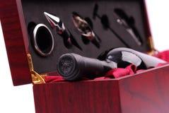 De uitrusting van de wijn Stock Foto