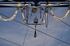 De uitrusting van het circus Stock Afbeeldingen