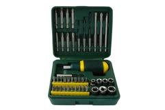 De uitrusting van het hulpmiddel. Stock Afbeelding