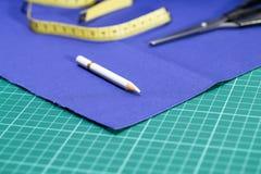 De uitrusting van kleermakerstoebehoren royalty-vrije stock foto