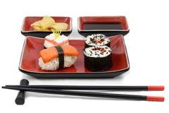 De uitrusting van sushi Royalty-vrije Stock Foto