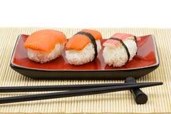De uitrusting van sushi Royalty-vrije Stock Foto's