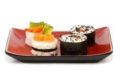 De uitrusting van sushi Stock Afbeeldingen