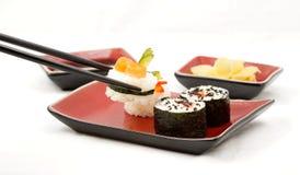 De uitrusting van sushi Stock Afbeelding