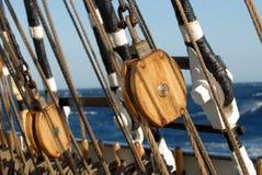 De uitrustingen van het schip Royalty-vrije Stock Afbeeldingen