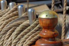 De uitrustingen van het schip Stock Afbeelding