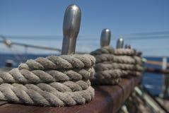 De uitrustingen van het schip Royalty-vrije Stock Foto's