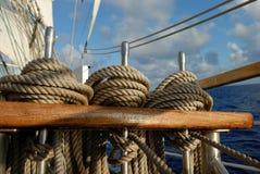 De uitrustingen van het schip Stock Foto