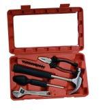 De uitrustingsdoos van het hulpmiddel Stock Fotografie