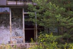 De uitsluitingsstreek van Tchernobyl Stock Foto