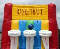De uitsmijter van het basketbal Stock Afbeeldingen