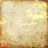 De uitstekende abstracte achtergrond van de kunst grunge Stock Afbeelding