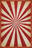 De uitstekende Achtergrond van de Circusaffiche met zonnestraal en sterren stock illustratie